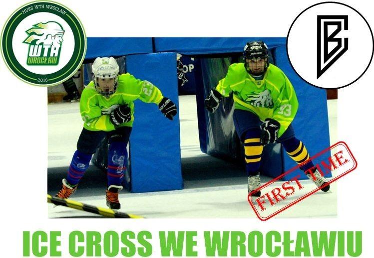 Nasze Żaki Młodsze na zawodach ICE CROSS we Wrocławiu